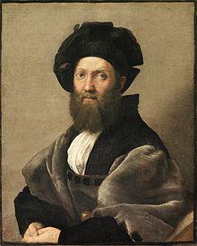 Baldassare Castiglione by Raphael (1514-15) The Louvre