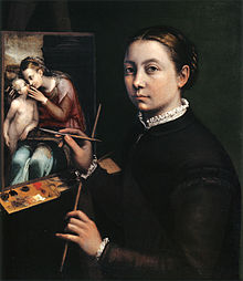 220px-Self-portrait_at_the_Easel_Painting_a_Devotional_Panel_by_Sofonisba_Anguissola